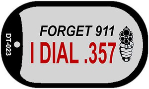 Forget 911 Wholesale Novelty Metal Dog Tag Necklace DT-023