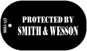 Smith and Wesson Wholesale Novelty Metal Dog Tag Necklace DT-1908