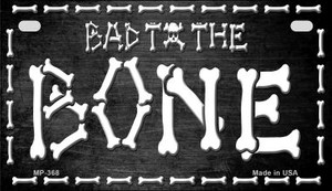 Bad to the Bone Wholesale Novelty Metal Motorcycle Plate MP-368