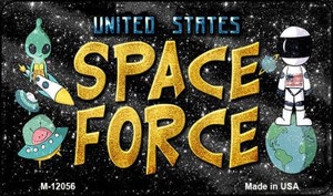 Space Force Wholesale Novelty Metal Magnet M-12056