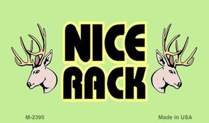 Nice Rack Wholesale Novelty Metal Magnet M-2390