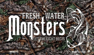 Fresh Water Monsters Wholesale Novelty Metal Magnet M-5273