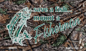 Save A Fish Wholesale Novelty Metal Magnet M-5274