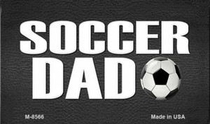 Soccer Dad Wholesale Novelty Metal Magnet M-8566