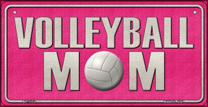 Volleyball Mom Wholesale Novelty Metal Bicycle Plate BP-1173