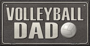 Volleyball Dad Wholesale Novelty Metal Bicycle Plate BP-8564