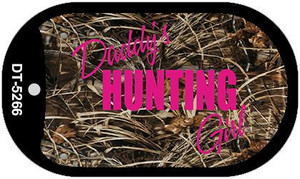 Daddys Hunting Girl Wholesale Novelty Metal Dog Tag Necklace DT-5266