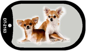 Chihuahua Wholesale Novelty Metal Dog Tag Necklace DT-2163