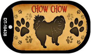 Chow Chow Wholesale Novelty Metal Dog Tag Necklace DT-10438