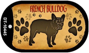 French Bulldog Wholesale Novelty Metal Dog Tag Necklace DT-10445