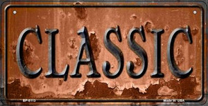 Classic Rusty Wholesale Novelty Metal Bicycle Plate BP-8113