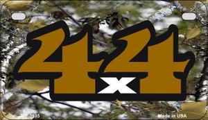 4x4 Camo Wholesale Novelty Metal Motorcycle Plate MP-3935