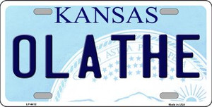 Olathe Kansas Wholesale Novelty Metal License Plate LP-6612