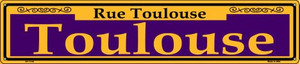 Toulouse Purple Wholesale Novelty Metal Street Sign ST-1146