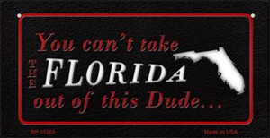 Florida Dude Wholesale Novelty Metal Bicycle Plate BP-11263