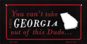 Georgia Dude Wholesale Novelty Metal Bicycle Plate BP-11264