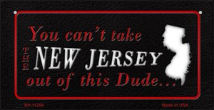 New Jersey Dude Wholesale Novelty Metal Bicycle Plate BP-11284