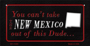 New Mexico Dude Wholesale Novelty Metal Bicycle Plate BP-11285