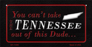 Tennessee Dude Wholesale Novelty Metal Bicycle Plate BP-11296