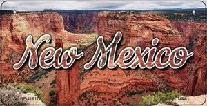New Mexico Red Canyon Wholesale Novelty Metal Bicycle Plate BP-11617