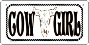 Cowgirl Wholesale Novelty Metal Bicycle Plate BP-1294