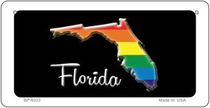 Florida Rainbow State Wholesale Novelty Metal Bicycle Plate BP-6323