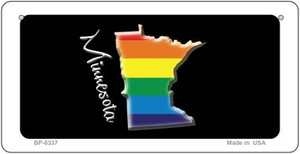 Minnesota Rainbow State Wholesale Novelty Metal Bicycle Plate BP-6337