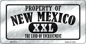 Property Of New Mexico Wholesale Novelty Metal Bicycle Plate BP-9772