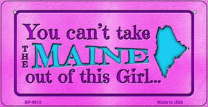 Maine Girl Wholesale Novelty Metal Bicycle Plate BP-9810