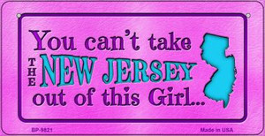 New Jersey Girl Wholesale Novelty Metal Bicycle Plate BP-9821