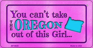 Oregon Girl Wholesale Novelty Metal Bicycle Plate BP-9828