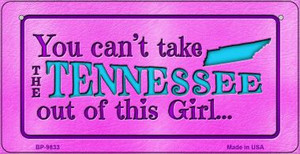 Tennessee Girl Wholesale Novelty Metal Bicycle Plate BP-9833