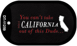California Dude Wholesale Novelty Metal Dog Tag Necklace DT-11259