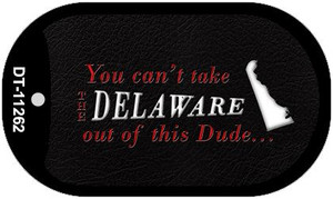 Delaware Dude Wholesale Novelty Metal Dog Tag Necklace DT-11262
