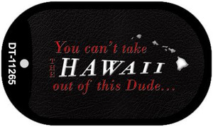 Hawaii Dude Wholesale Novelty Metal Dog Tag Necklace DT-11265