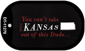 Kansas Dude Wholesale Novelty Metal Dog Tag Necklace DT-11270