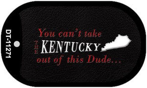 Kentucky Dude Wholesale Novelty Metal Dog Tag Necklace DT-11271