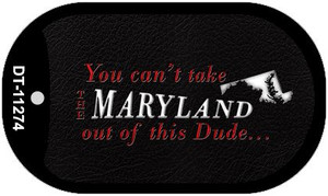 Maryland Dude Wholesale Novelty Metal Dog Tag Necklace DT-11274