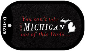 Michigan Dude Wholesale Novelty Metal Dog Tag Necklace DT-11276