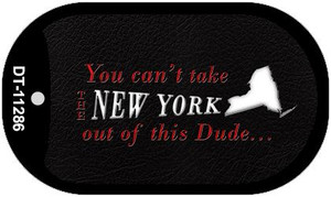 New York Dude Wholesale Novelty Metal Dog Tag Necklace DT-11286