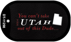 Utah Dude Wholesale Novelty Metal Dog Tag Necklace DT-11298