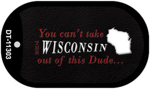 Wisconsin Dude Wholesale Novelty Metal Dog Tag Necklace DT-11303