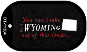 Wyoming Dude Wholesale Novelty Metal Dog Tag Necklace DT-11304