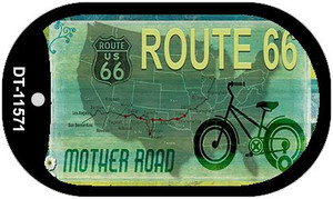 Route 66 Mother Road Wholesale Novelty Metal Dog Tag Necklace DT-11571
