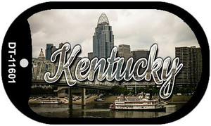 Kentucky City Skyline Wholesale Novelty Metal Dog Tag Necklace DT-11601