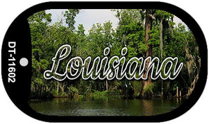 Louisiana Swamp Wholesale Novelty Metal Dog Tag Necklace DT-11602