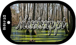Mississippi Swamp Wholesale Novelty Metal Dog Tag Necklace DT-11610