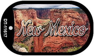 New Mexico Red Canyon Wholesale Novelty Metal Dog Tag Necklace DT-11617