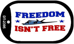 Freedom Isn't Free Wholesale Novelty Metal Dog Tag Necklace DT-2395