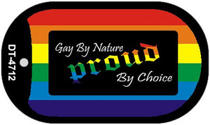Gay By Nature Wholesale Novelty Metal Dog Tag Necklace DT-4712